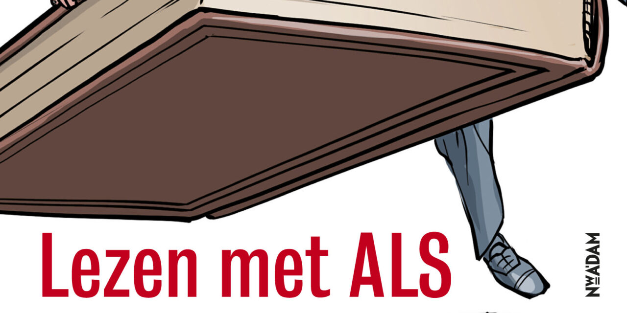 Lezen met ALS – Pieter Steinz