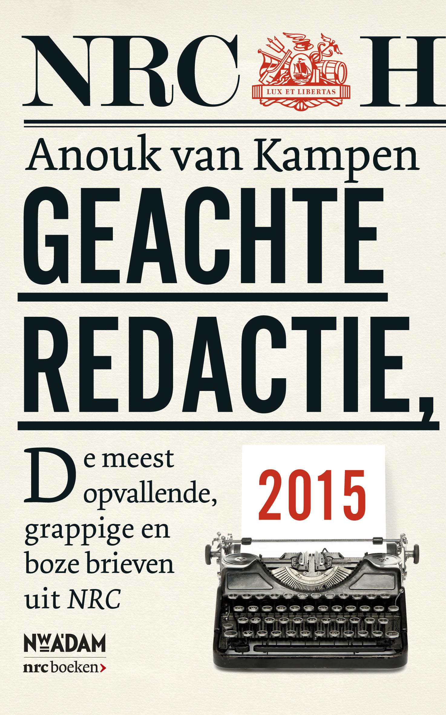 Geachte redactie, – Anouk van Kampen