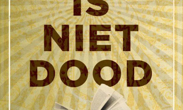 De lezer is niet dood – Alex Boogers