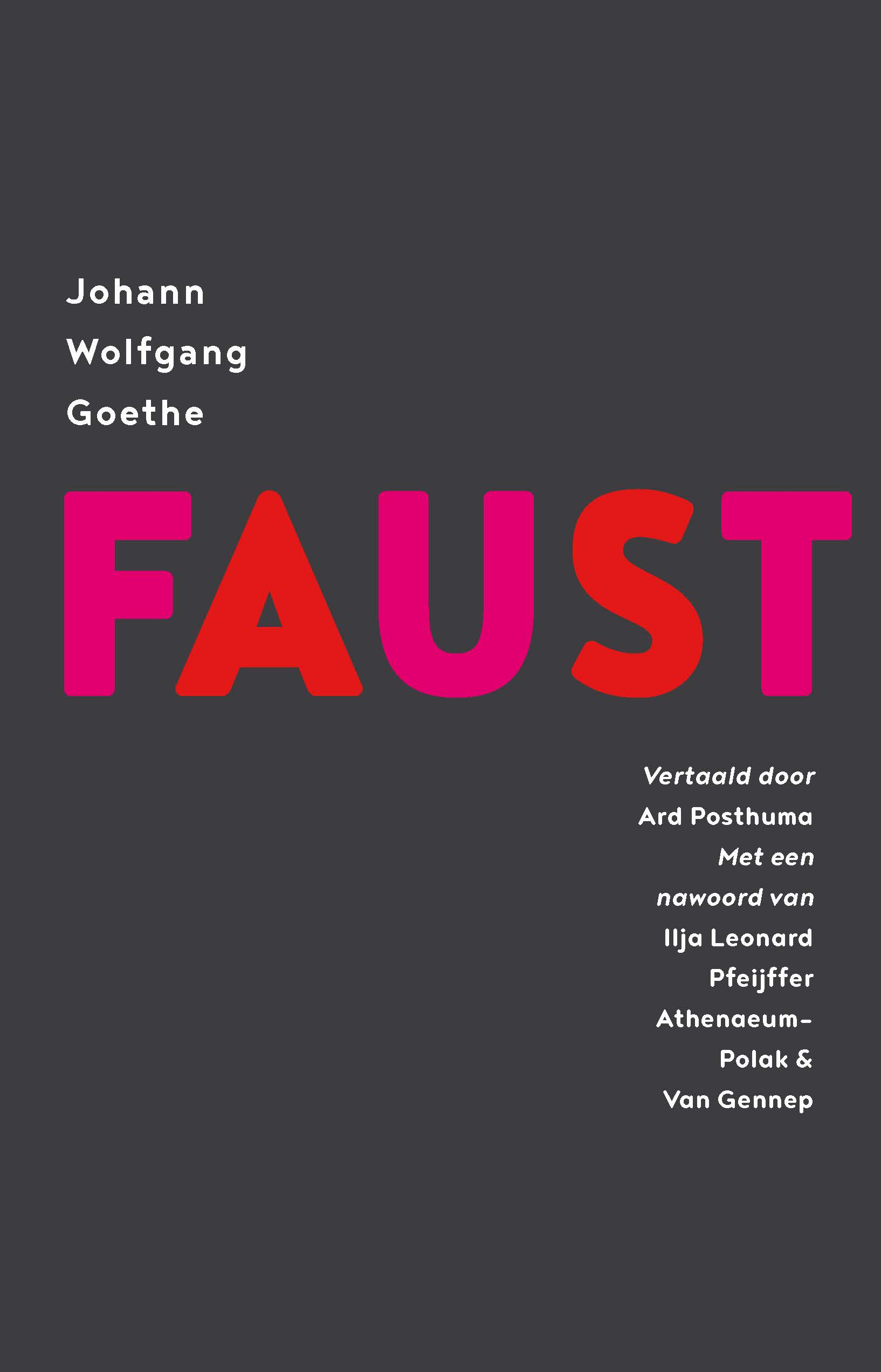Faust – Johann Wolfgang Goethe