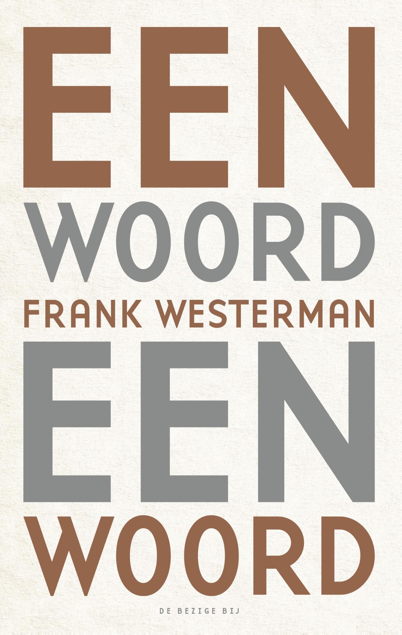 Een woord een woord – Frank Westerman
