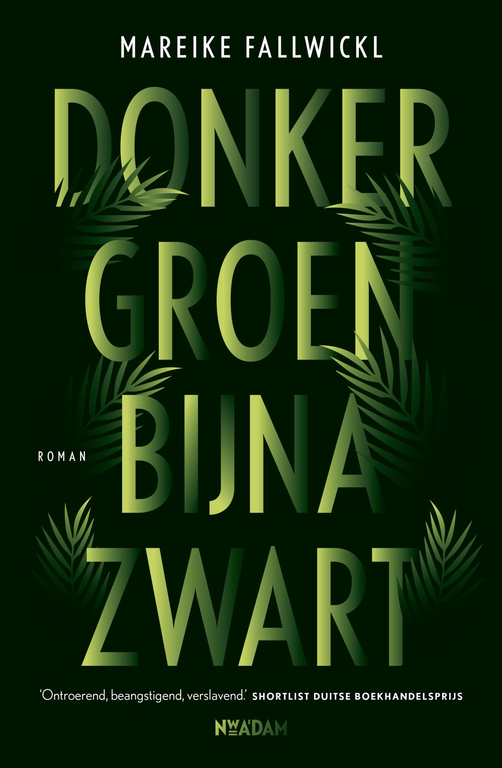 Donkergroen bijna zwart - boekenflits.nl