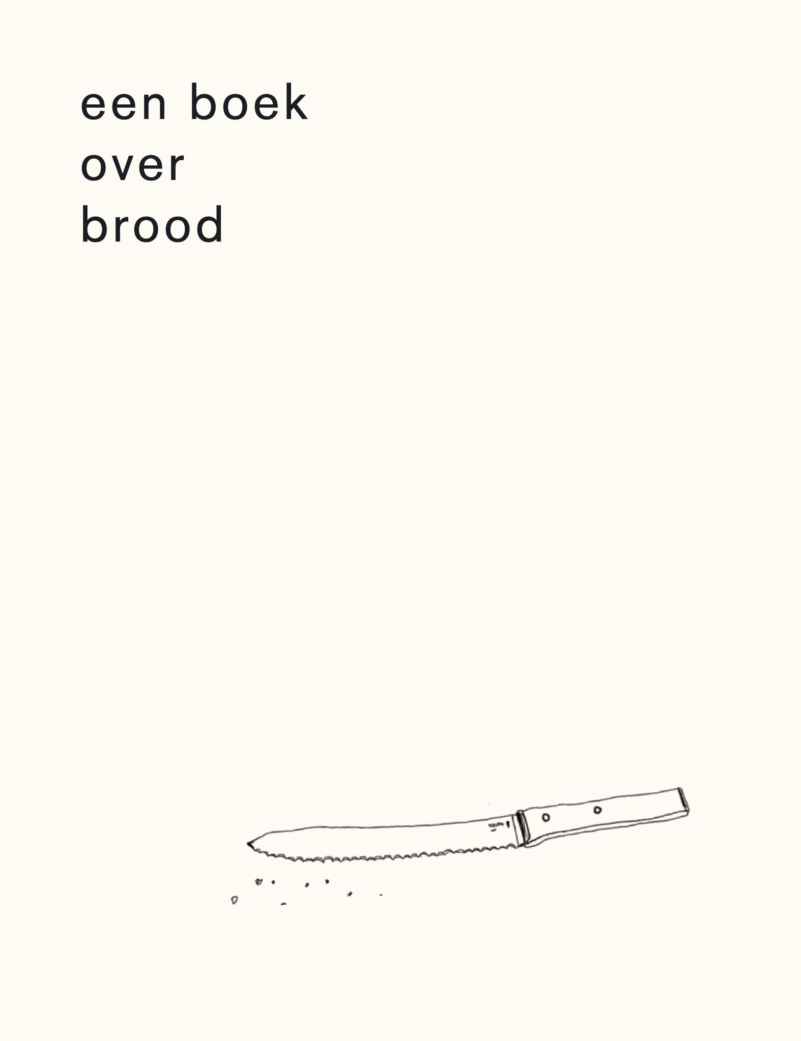 Een boek over brood - boekenflits