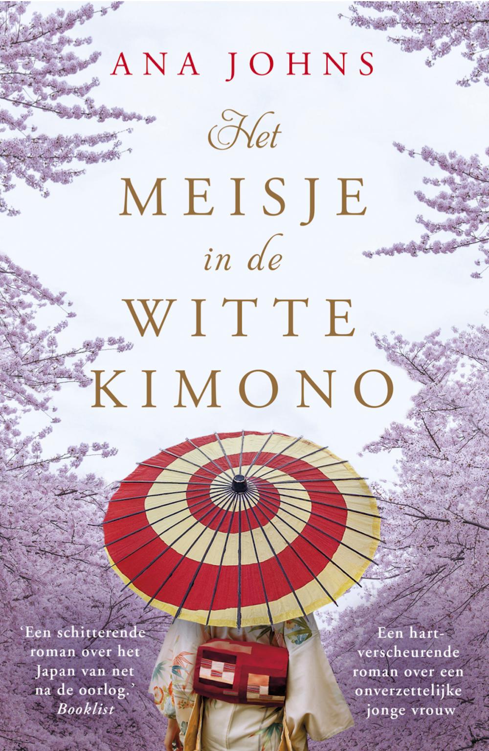 Het meisje in de witte kimono - boekenflits.nl
