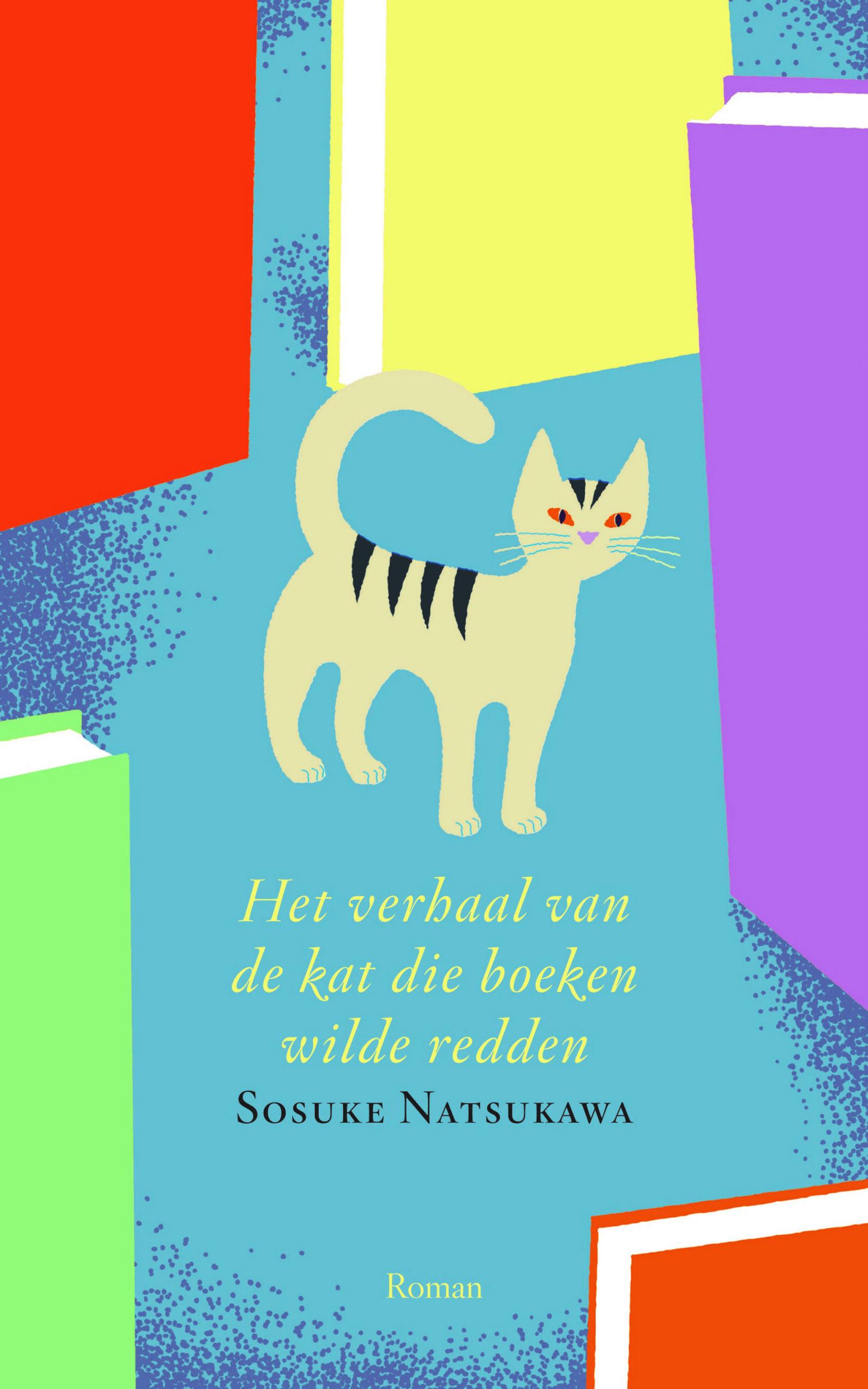 Het verhaal van de kat die boeken wilde redden - boekenflits