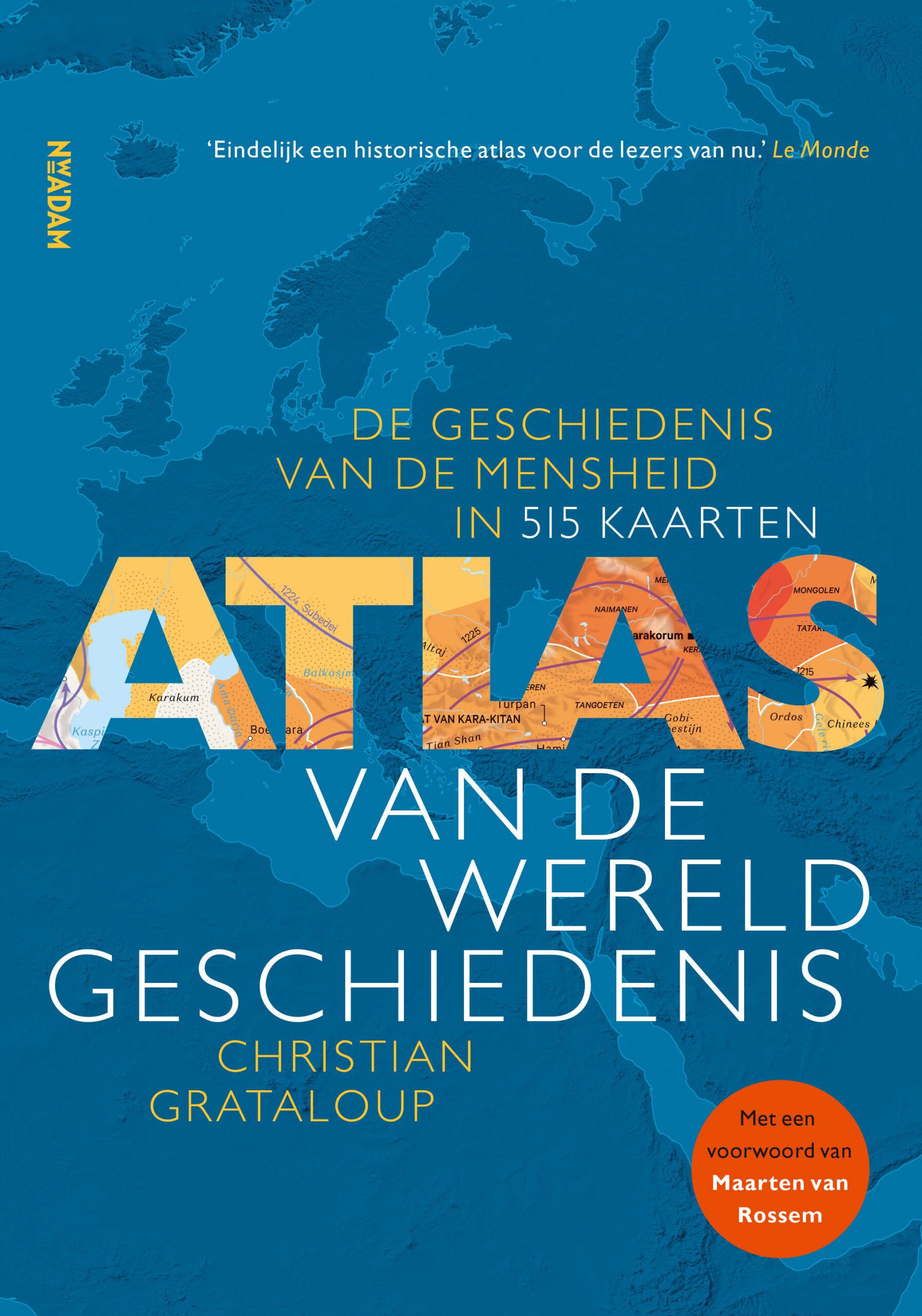 Atlas van de wereldgeschiedenis - boekenflits