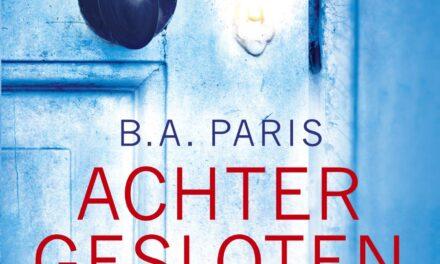 Achter gesloten deuren – B.A. Paris