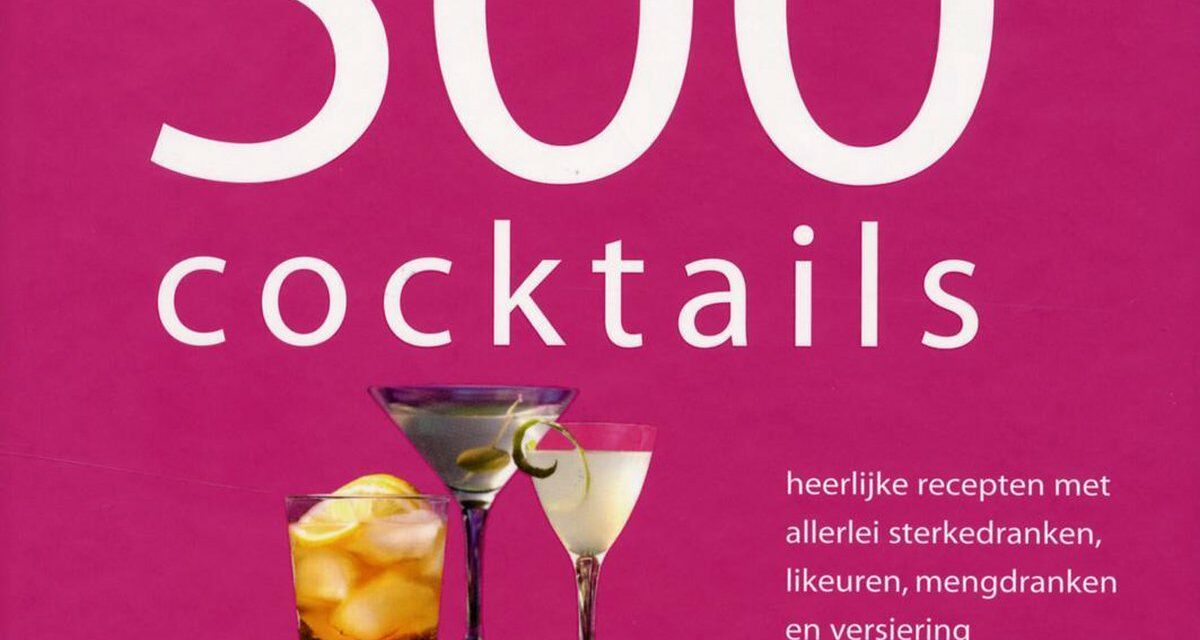 500 Cocktails – Wendy Sweetser