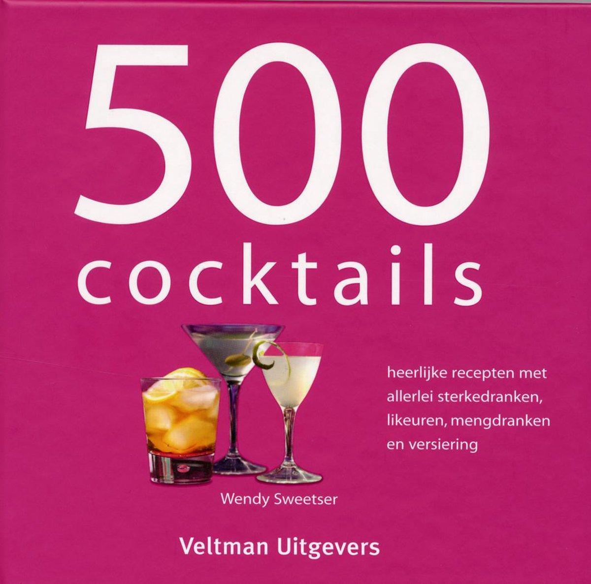 500 Cocktails - boekenflits