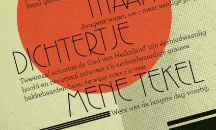 De uitvreter / Titaantjes / Dichtertje / Mene Tekel – Nescio
