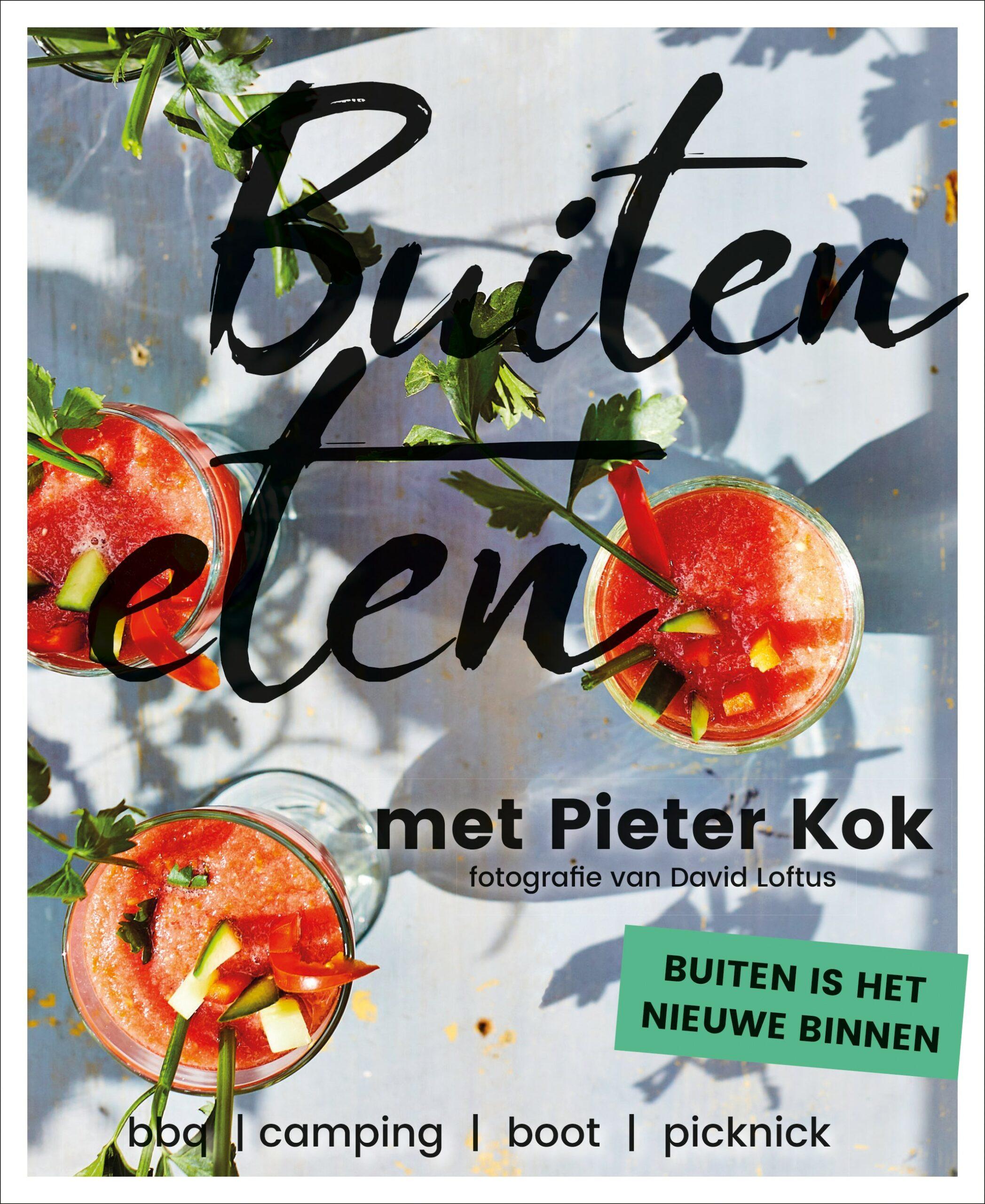 Buiten eten met Pieter Kok - boekenflits