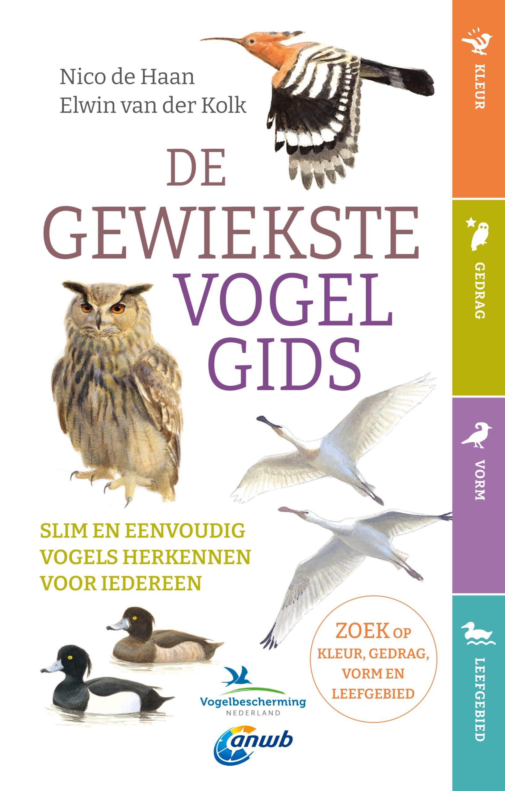 De gewiekste vogelgids - boekenflits
