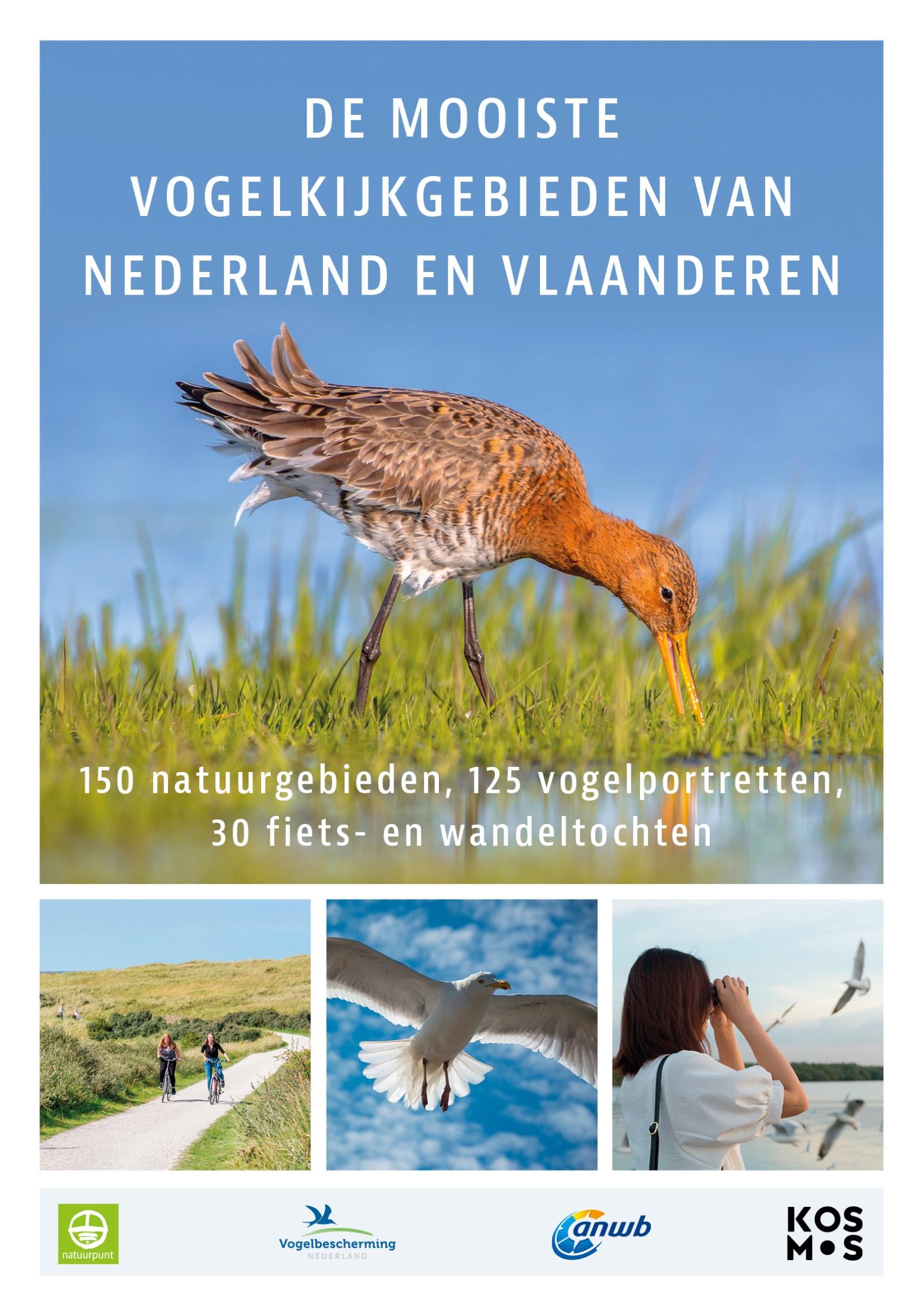 De mooiste vogelkijkgebieden van Nederland en Vlaanderen - boekenflits