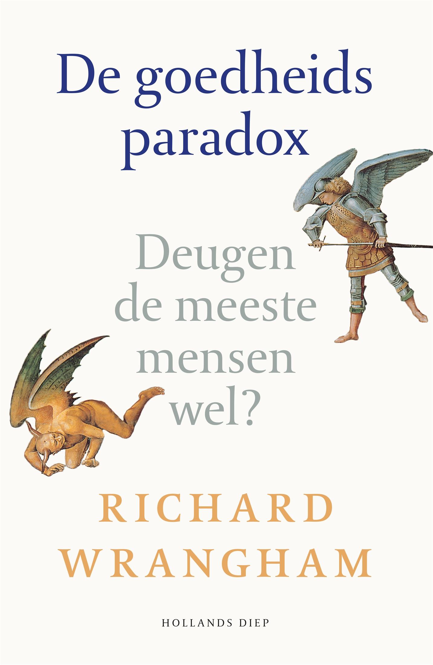 De goedheidsparadox - boekenflits