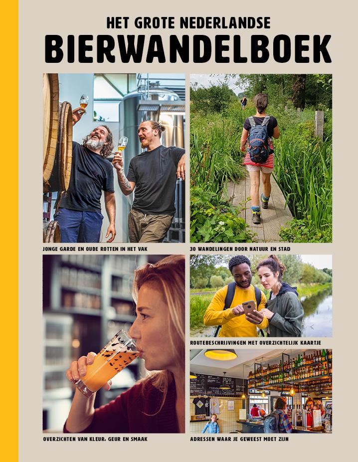 Het grote Nederlandse bierwandelboek - boekenflits
