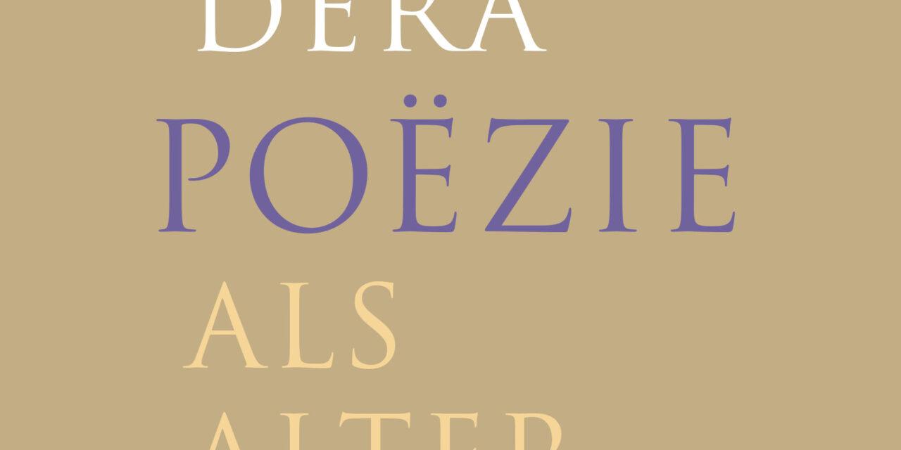 Poëzie als alternatief – Jeroen Dera