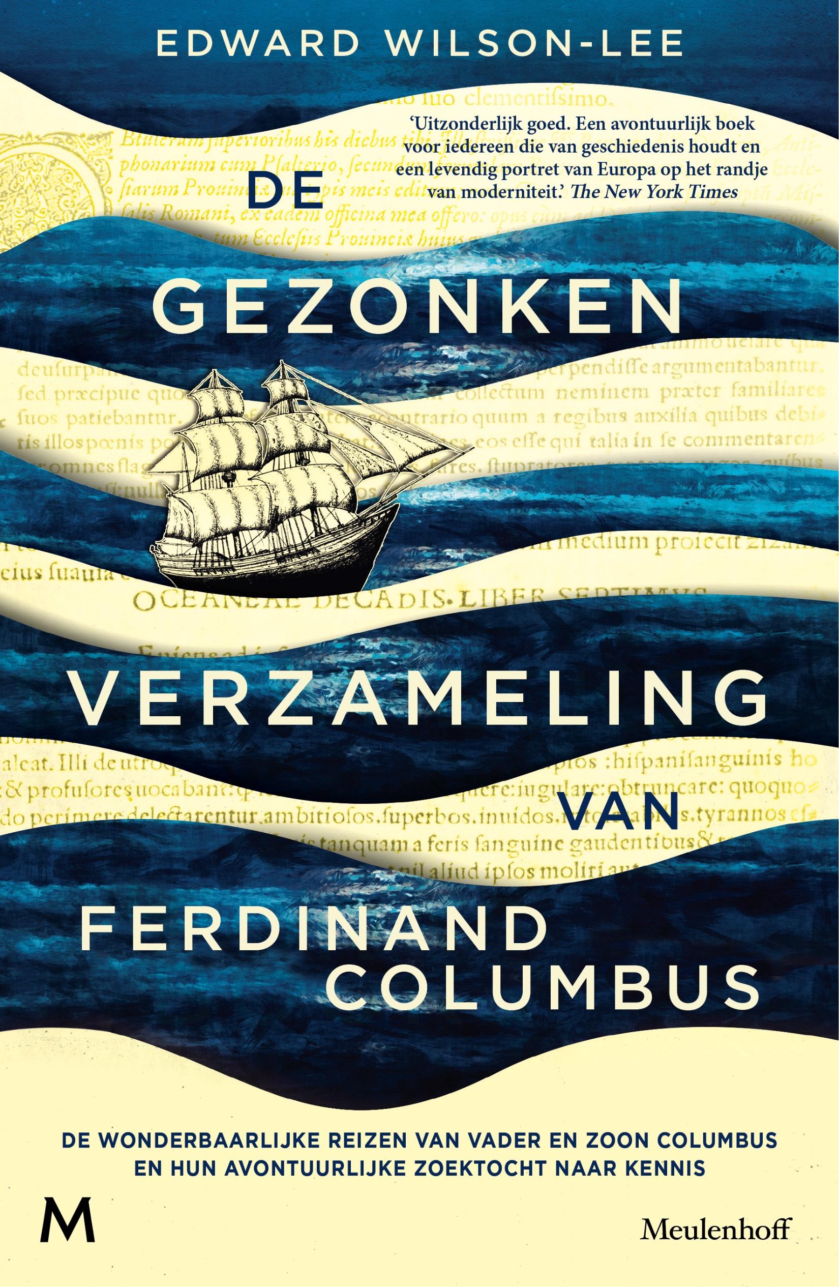 De gezonken verzameling van Ferdinand Columbus - Edward Wilson-Lee