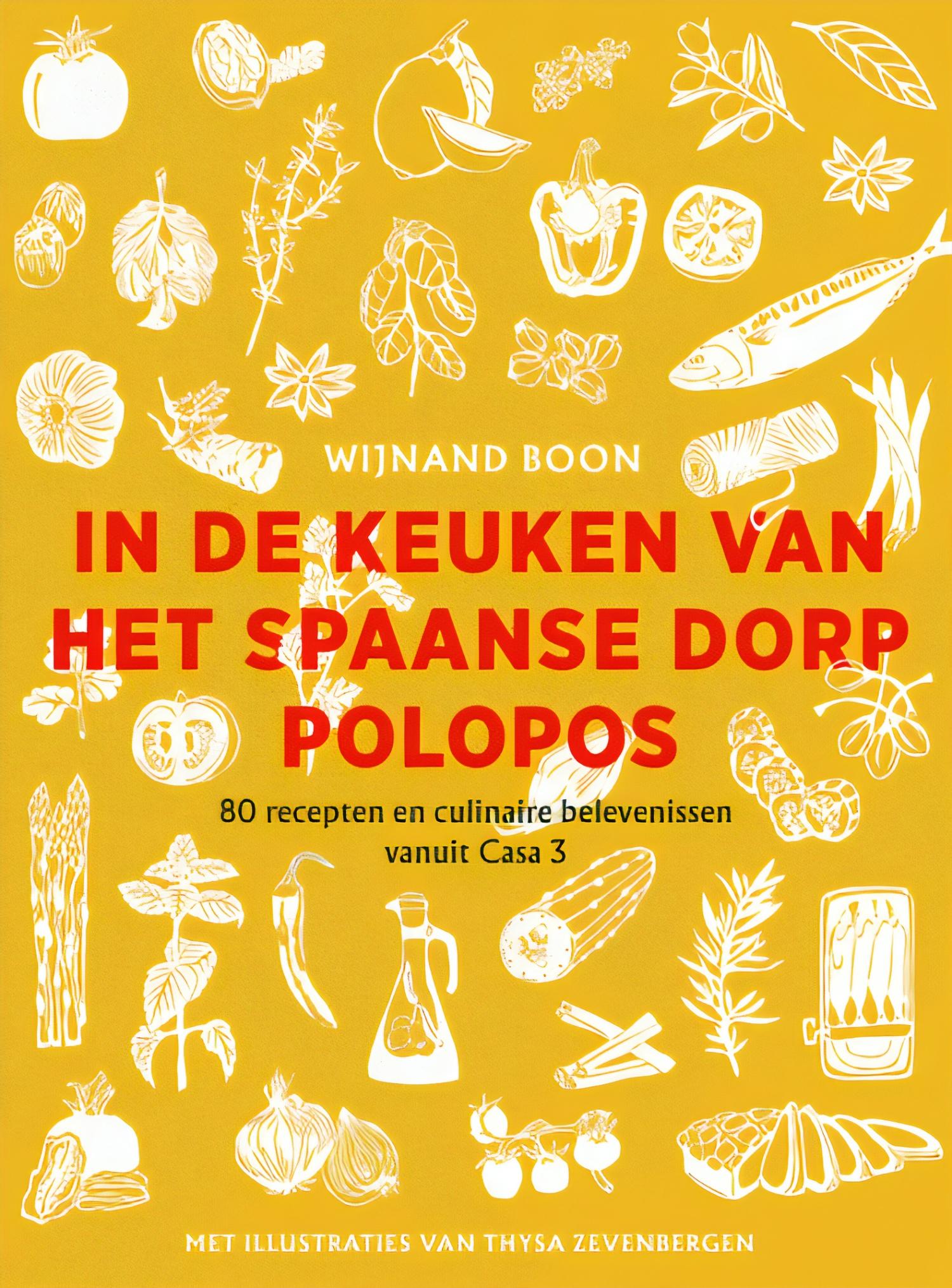 In de keuken van het Spaanse dorp Polopos - boekenflits